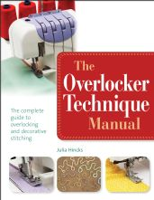 The Overlocker Technique Sewing Manual Paperback Sewing Book